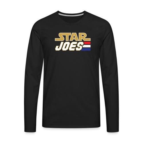Star Joes Shirt Black - Men's Premium Long Sleeve T-Shirt