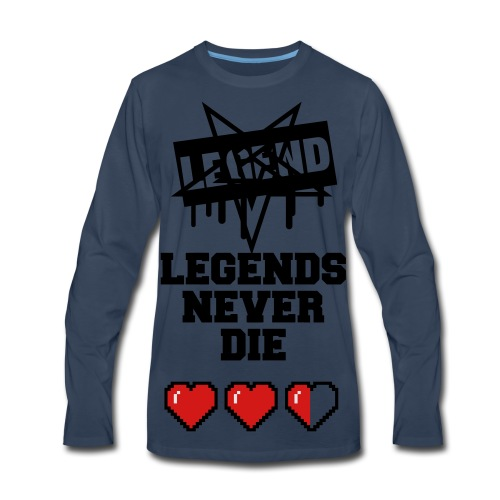 LEGEND t-shirt LOW PRICE IN 5 months BE PREPARED - Men's Premium Long Sleeve T-Shirt