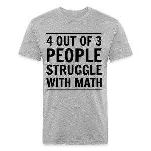 T-shirt ajusté poly/coton pour hommes