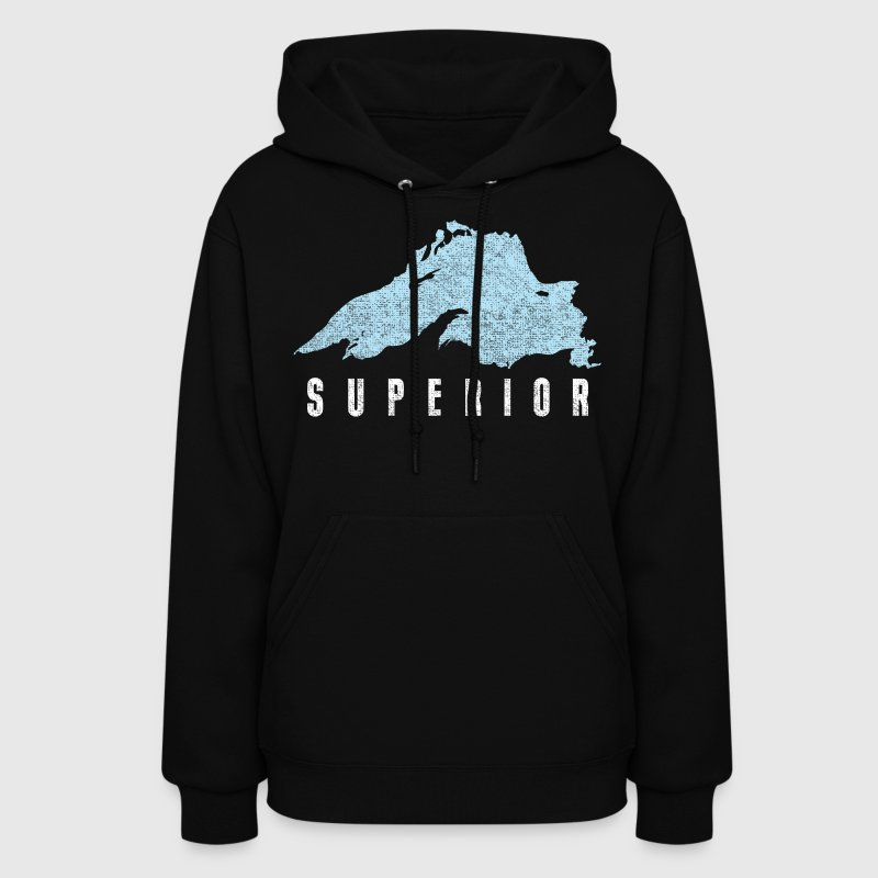 Lake Superior Great Lakes Hoodies - Women's Hoodie