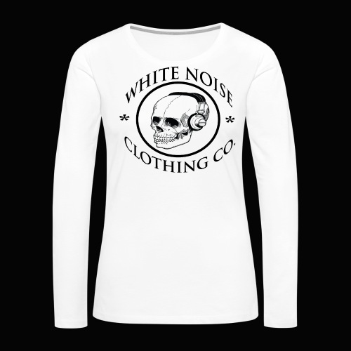 White Noise T-Shirt - Women's Premium Long Sleeve T-Shirt