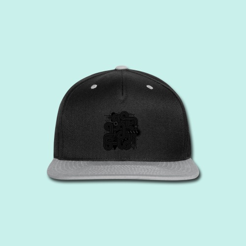 mens graphic - Snap-back Baseball Cap