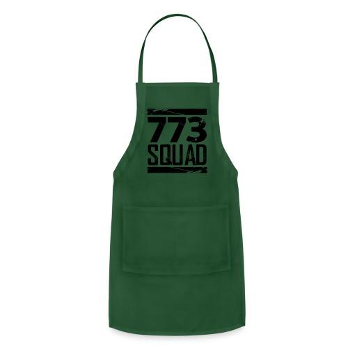 773 Squad Women's Premium T-Shirt (Green) - Adjustable Apron
