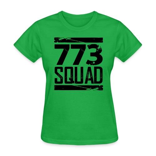 773 Squad Women's Premium T-Shirt (Green) - Women's T-Shirt