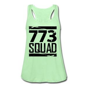 773 Squad Women's Premium T-Shirt (Green) - Women's Flowy Tank Top by Bella