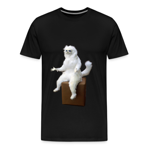 Persian Cat Meme Tee - Men's Premium T-Shirt