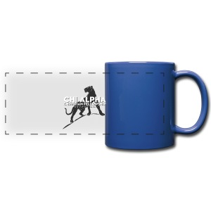 Blue Cougar Mug - Full Color Panoramic Mug