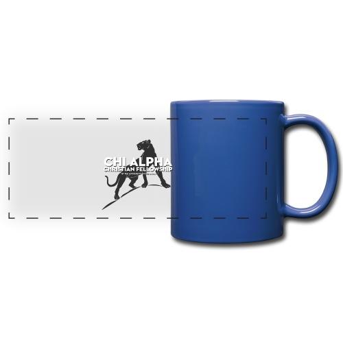 Blue Cougar Mug - Full Color Panoramic Mug