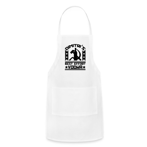 Dimitri's Best Effort Vodka Premium Tee - Adjustable Apron
