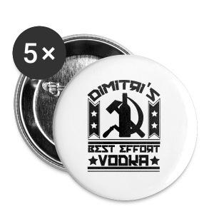 Dimitri's Best Effort Vodka Premium Tee - Large Buttons