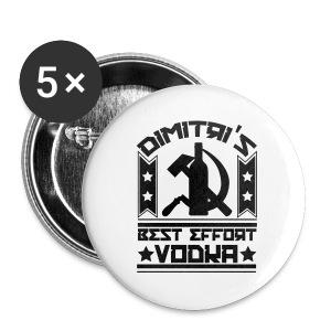 Dimitri's Best Effort Vodka Premium Tee - Small Buttons