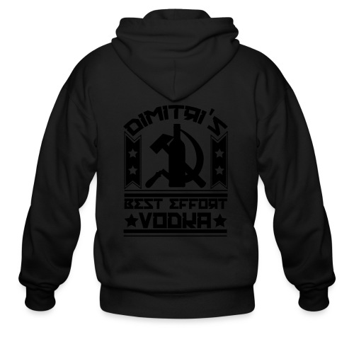 Dimitri's Best Effort Vodka Premium Tee - Men's Zip Hoodie
