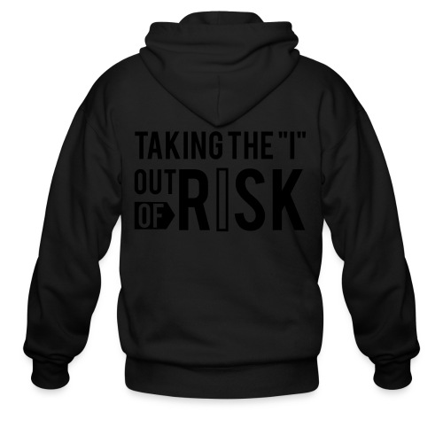 RISK Premium Tee - Men's Zip Hoodie