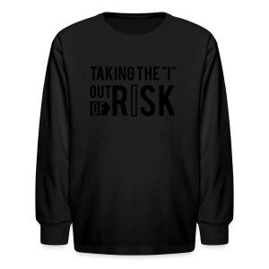 RISK Premium Tee - Kids' Long Sleeve T-Shirt