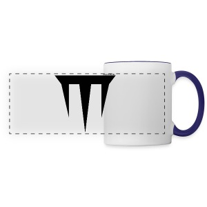 Wulfgard Inquisition Men's T-Shirt - Black on White - Panoramic Mug