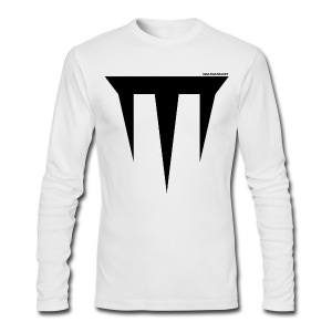 Wulfgard Inquisition Men's T-Shirt - Black on White - Men's Long Sleeve T-Shirt by Next Level