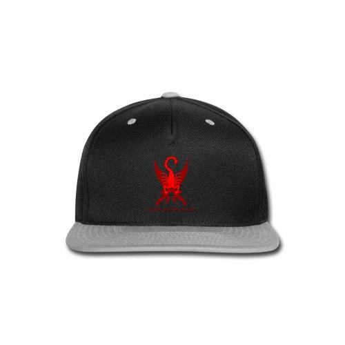 Saber-Scorpion's Lair Logo (Smaller) Men's T-Shirt - Snap-back Baseball Cap