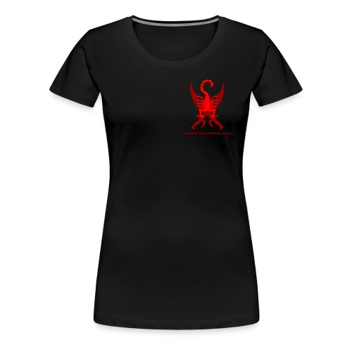 Saber-Scorpion's Lair Logo (Smaller) Men's T-Shirt - Women's Premium T-Shirt