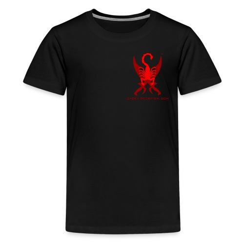 Saber-Scorpion's Lair Logo (Smaller) Men's T-Shirt - Kids' Premium T-Shirt