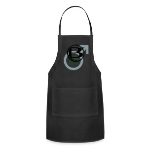 2B Male T - drk - Adjustable Apron