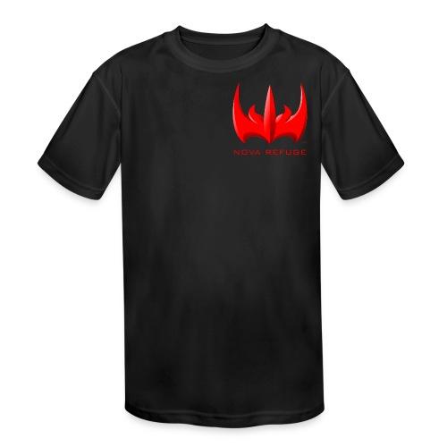 Nova Refuge Xarkon Emblem Men's T-Shirt - Kid's Moisture Wicking Performance T-Shirt