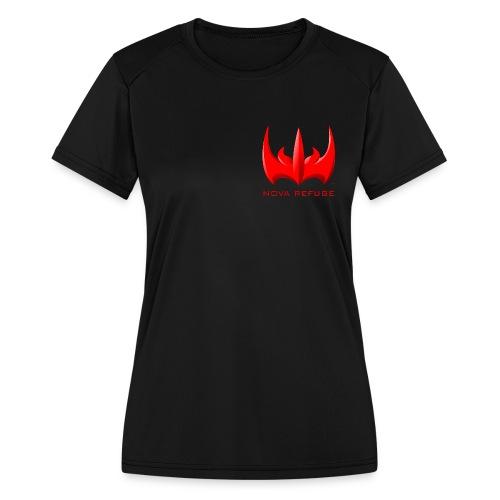 Nova Refuge Xarkon Emblem Men's T-Shirt - Women's Moisture Wicking Performance T-Shirt