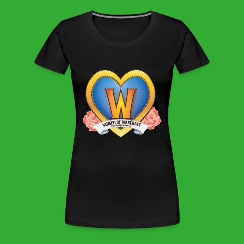 Women of Warcraft Tank - Women's Premium T-Shirt
