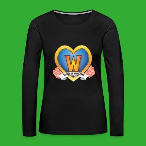 Women of Warcraft Tank - Women's Premium Long Sleeve T-Shirt