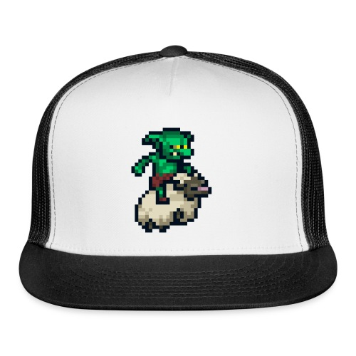 Goblin Sheep Run - Button - Trucker Cap