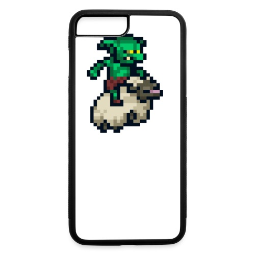 Goblin Sheep Run - Button - iPhone 7 Plus/8 Plus Rubber Case