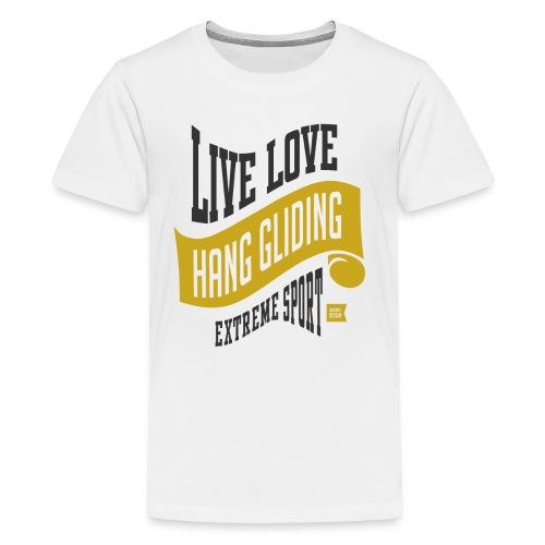 Hang Gliding Extreme Sport T-shirt - Kids' Premium T-Shirt
