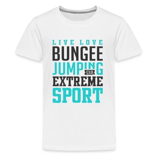 Bungee Jumping Extreme Sport T-shirt - Kids' Premium T-Shirt