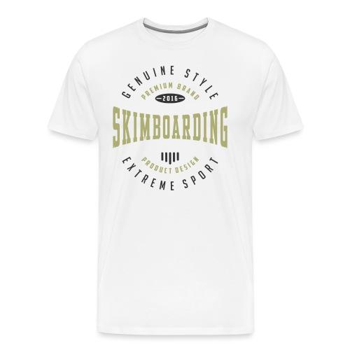 Skimboarding Extreme Sport T-shirt - Men's Premium T-Shirt