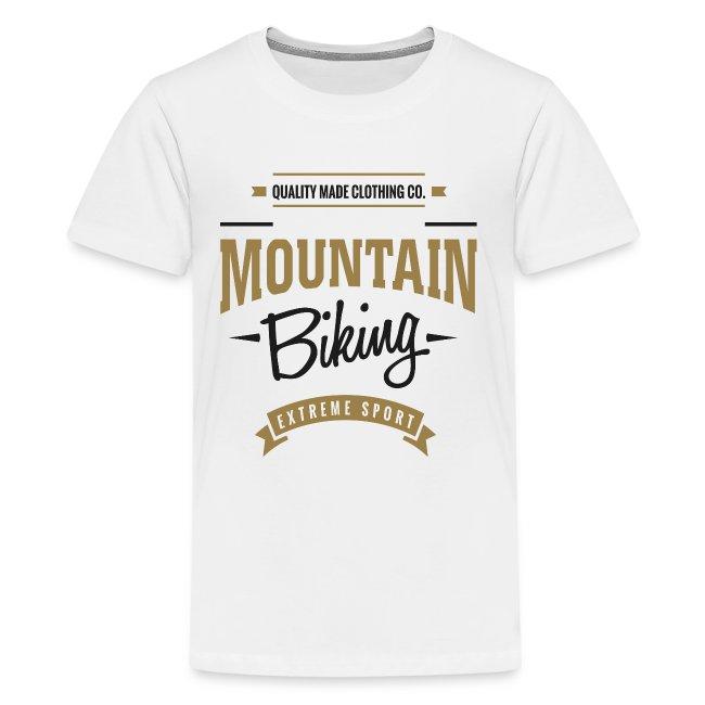Mountain Biking Extreme Sport T-shirt