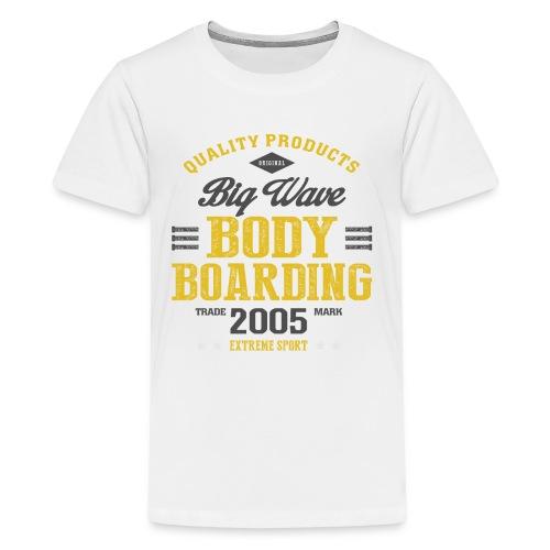 Bodyboarding Extreme Sport T-shirt - Kids' Premium T-Shirt
