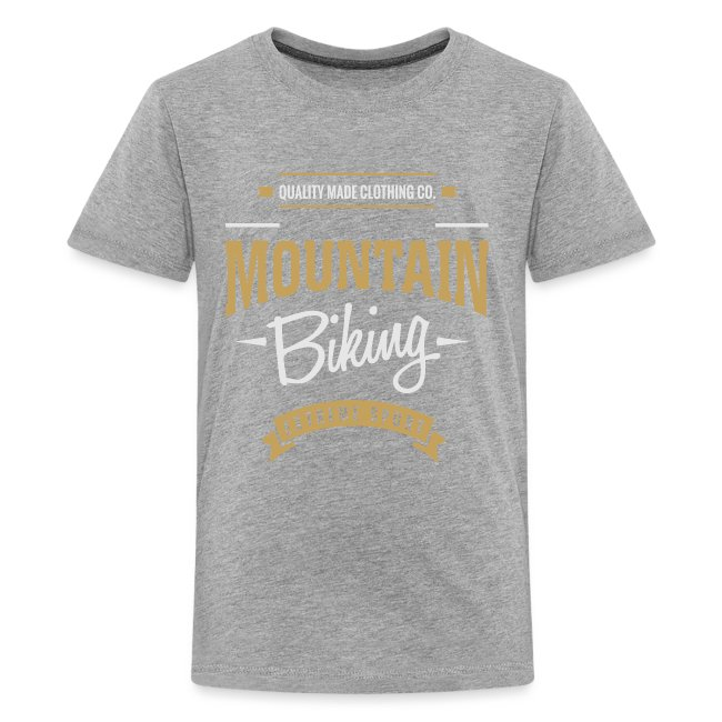 Mountain Biking Dark T-shirt