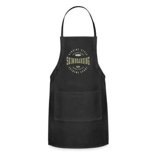 Skimboarding Dark T-shirt - Adjustable Apron