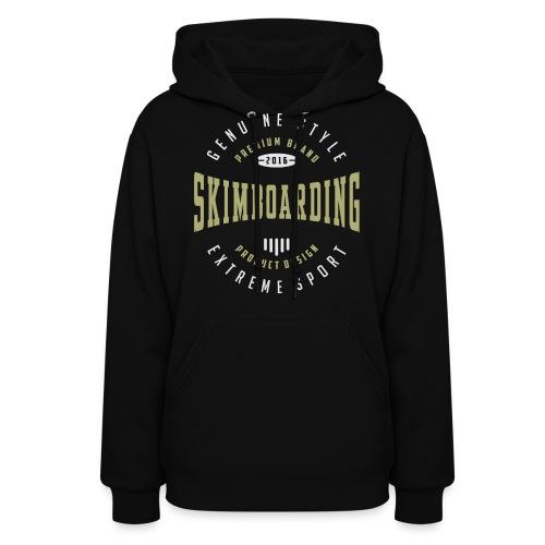 Skimboarding Dark T-shirt - Women's Hoodie
