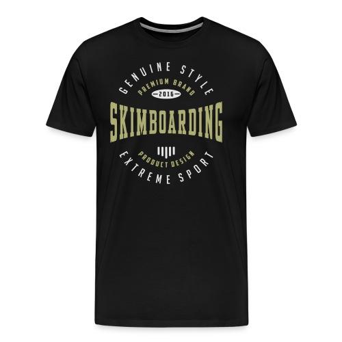 Skimboarding Dark T-shirt - Men's Premium T-Shirt