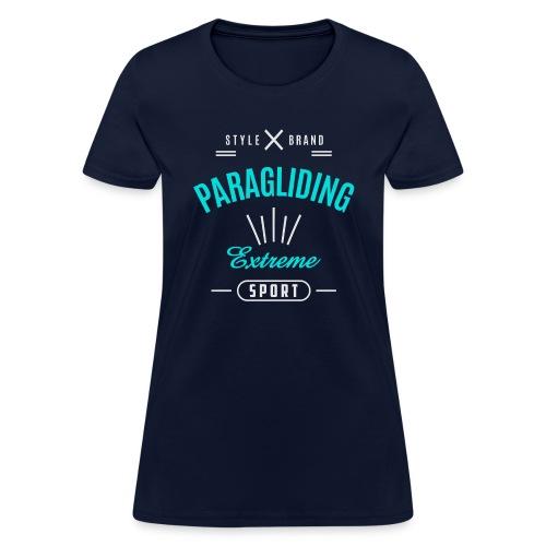 Paragliding Dark T-shirt - Women's T-Shirt