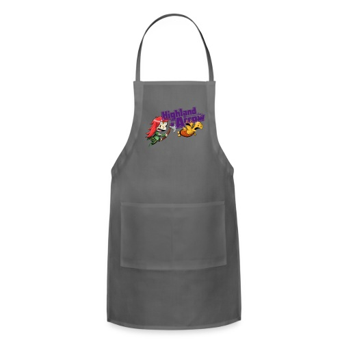 Women's Double Unfine Tank Top - Adjustable Apron