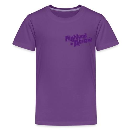 Women's Double Unfine Tank Top - Kids' Premium T-Shirt