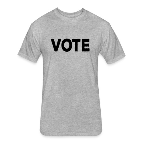 Vote - Fitted Cotton/Poly T-Shirt by Next Level