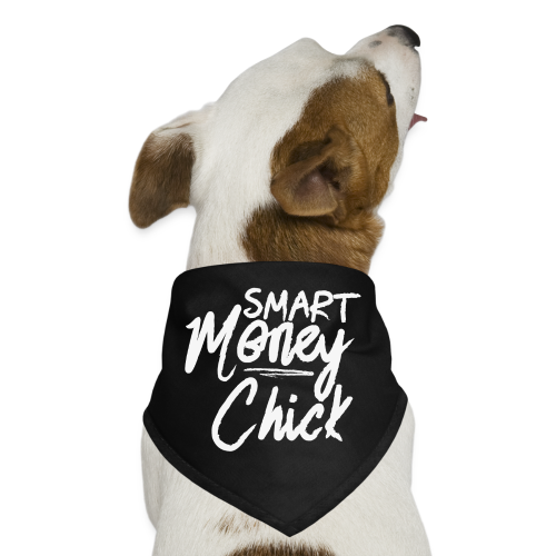 Smart Money Chick Tote bag-bag edge-Black - Dog Bandana