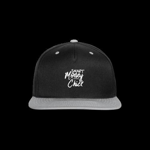 Smart Money Chick Tote bag-bag edge-Black - Snap-back Baseball Cap