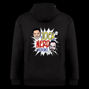 Jock and Nerd Podcast - Men's Zip Hoodie