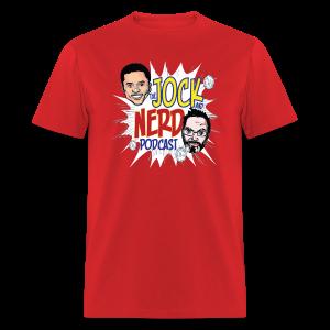 Jock and Nerd Podcast - Men's T-Shirt