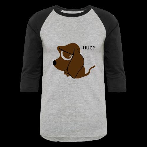 Sad Dog Sweater - Baseball T-Shirt