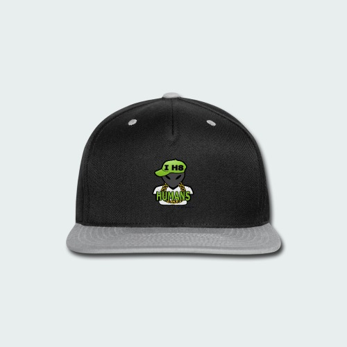 I H8 Humans - Snap-back Baseball Cap