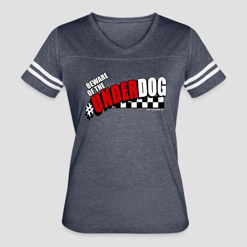 Men's Beware of the Underdog T - Women's Vintage Sport T-Shirt